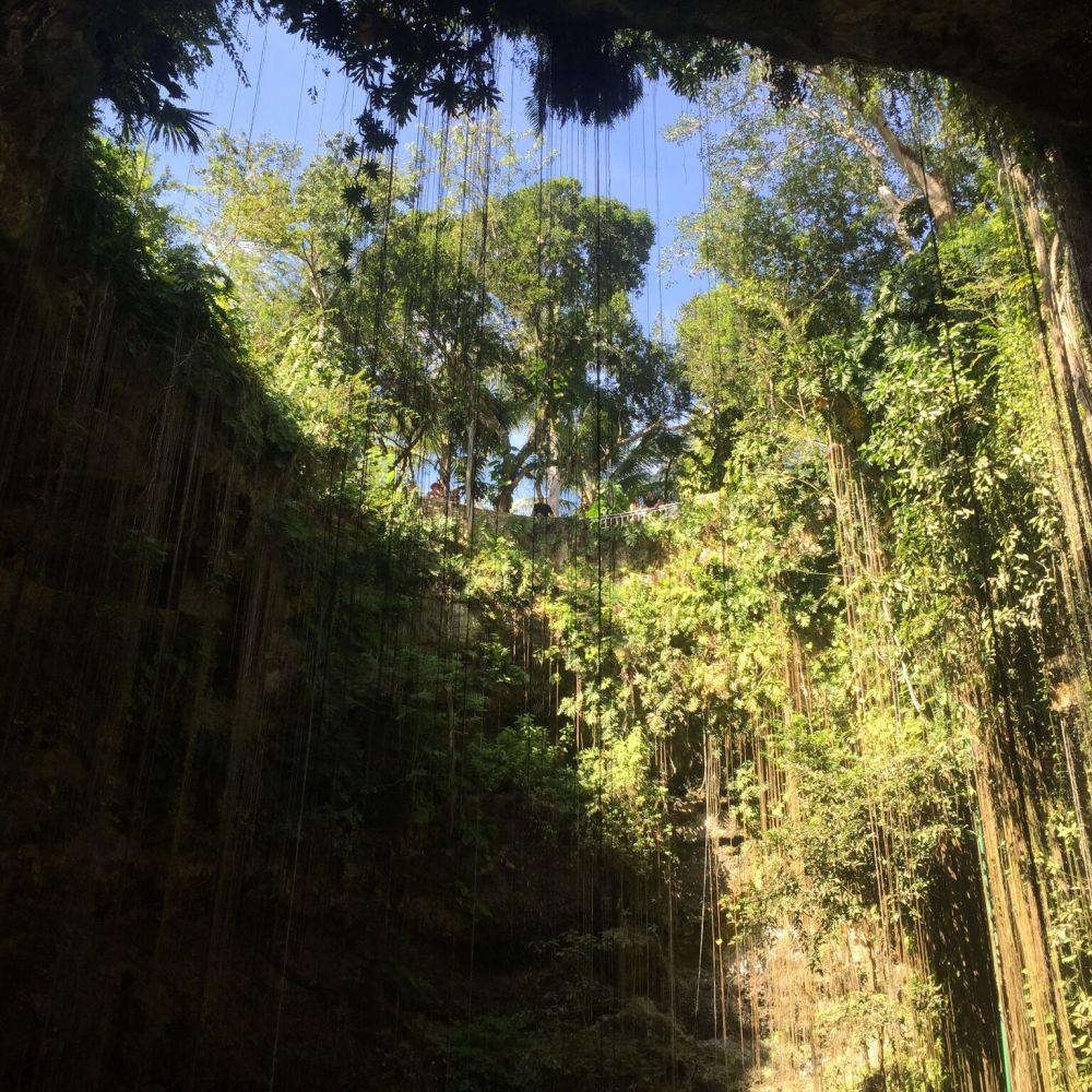 Cenote Ik-Kil Mexico