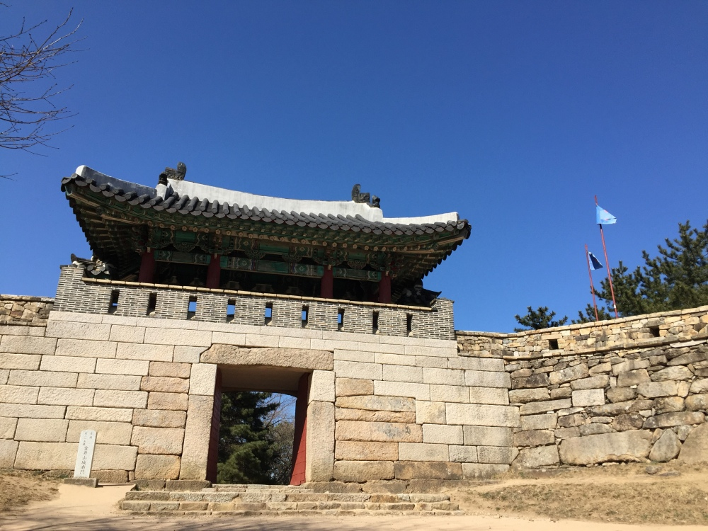 South gate fortres busan Geumjung